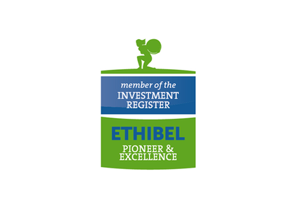 Earned selection to Ethibel PIONEER and Ethibel EXCELLENCE